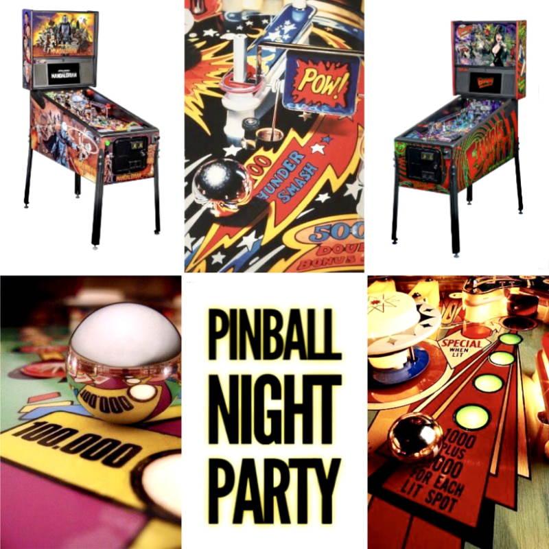 Venerdì 15 ottobre: Pinball Night Party allo Spazio Morlacchi